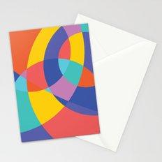 Geometric Beach Ball 1 Stationery Cards