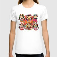 mexican T-shirts featuring Mexican Dolls by Alapapaju