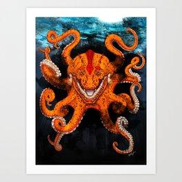 Croctopus Art Print