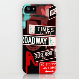 Streets of New York iPhone Case