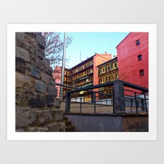 Old Town of Madrid - Lavapiés Art Print
