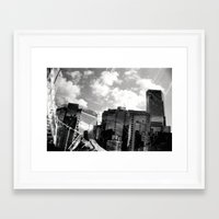 buildings Framed Art Prints featuring Buildings  by Mich Li