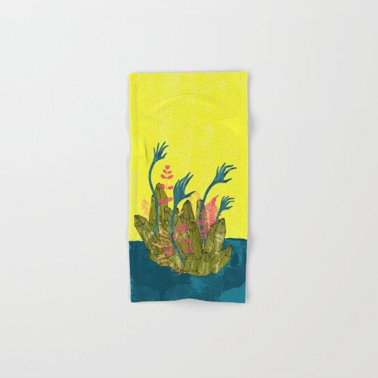 l'isola di calipso Hand & Bath Towel