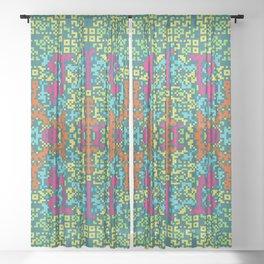 """Garden""series 1 Sheer Curtain"