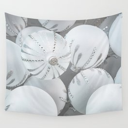 White Glass Wall Tapestry