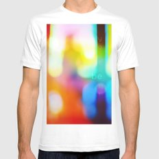 Be Yourself MEDIUM Mens Fitted Tee White