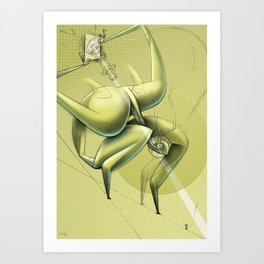 De los vuelos | Of flights { n°_ 005 } Art Print