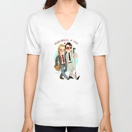 Daredevil Super Group Hug! Unisex V-Neck