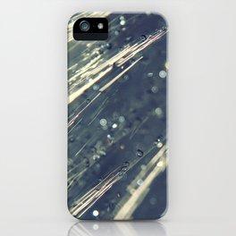 Rain Shower iPhone Case