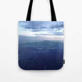 Santa Fe Blues Tote Bag