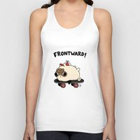 pug Tank Tops featuring PUG. by Jarvis Glasses