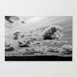 In the Distance Canvas Print