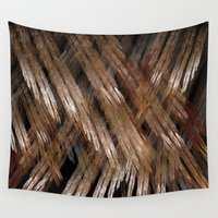 angel wings Wall Tapestries featuring Angel Wings by GothicToggs