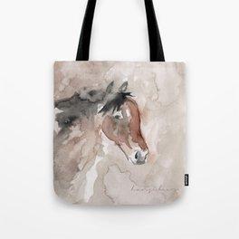 Horse - Watercolor Tote Bag