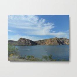Canyon Lake Metal Print