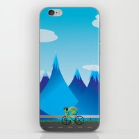 cycle iPhone & iPod Skins featuring Cycle by kylecschaeffer