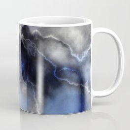 Lightning ride (blue) Coffee Mug