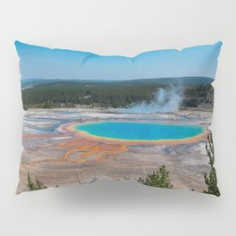 Grand Prismatic Spring, Yellowstone Pillow Sham