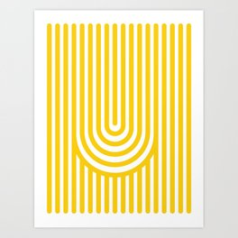 U, Art Print