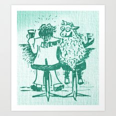 The Baa Baa Bar Art Print