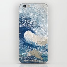 The Great Wave Abstract Ocean iPhone Skin