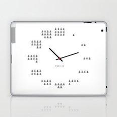 Time Flies Laptop & iPad Skin