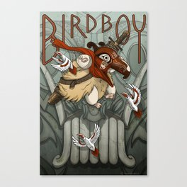 Bird Boy Promo Poster Canvas Print