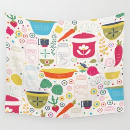 Eat Your Veggies! Wall Tapestry