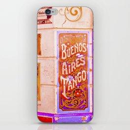 Tango Buenos Aires, Argentina. iPhone Skin