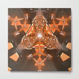 Tri-Gon Metal Print