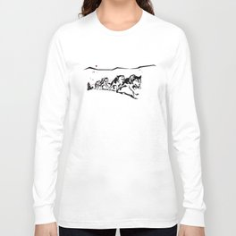 sknowledge // (husky team) Long Sleeve T-shirt