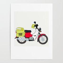 Postie Bike Poster