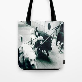 Dog Walker NYC  Tote Bag