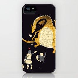 ye hath to catcheth them all(black) iPhone Case