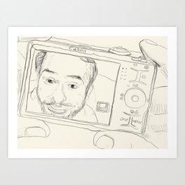 charlie Art Print