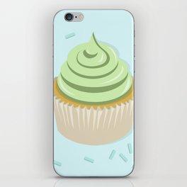 Lime Cupcake iPhone Skin