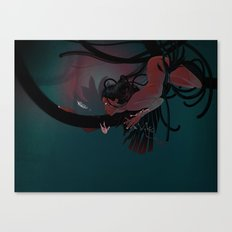 Red hunter Canvas Print