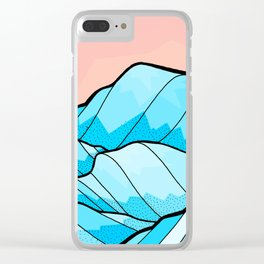 The hill waves Clear iPhone Case