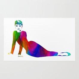 Audrey Hepburn (7) Rug