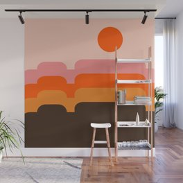 Honey Hills Wall Mural