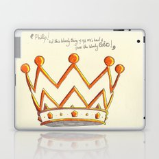 Crowns & Gin Laptop & iPad Skin