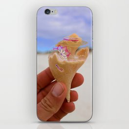 Henna Whelk iPhone Skin