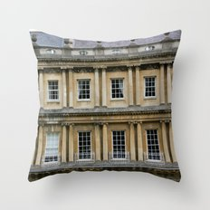 The Crescent, Bath Throw Pillow