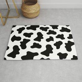 Moo Cow Print Rug