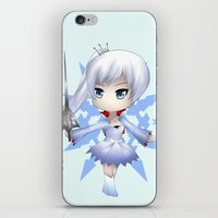 rwby iPhone & iPod Skins featuring Weiss by Louiology