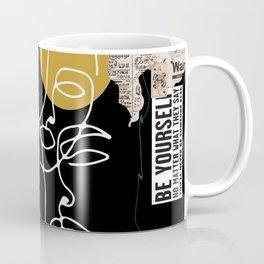 Manifesto Collage Coffee Mug
