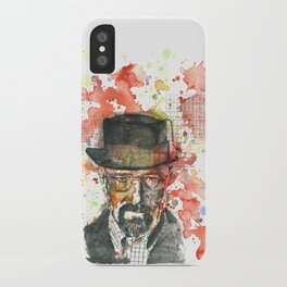 Walter White from Breaking Bad iPhone Case