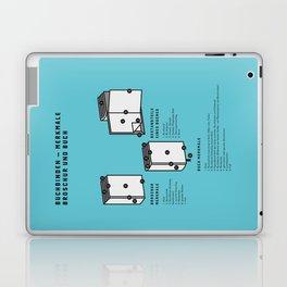 Buchbinden – Merkmale Broschur und Buch (in German) Laptop & iPad Skin