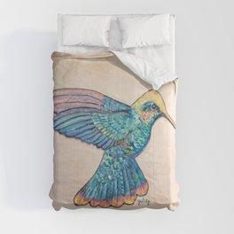 Colorful Hummingbird Comforters