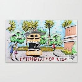 La Taco Vida, Motiongate Theme Park, Dubai Canvas Print